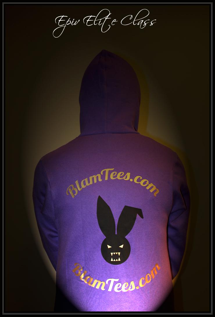 Fleece Zip Up Hoodies for Men and Women - The Epic Elite Class series from Blam Tees