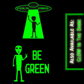 e Green Alien - environmentalist t shirts
