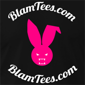 Blam Tees Full Circle Logo Evil Rabbit t shirt and hoodie