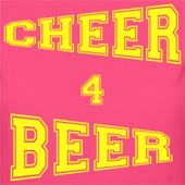 Cheer 4 Beer funny cheerleading t shirts