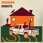 Dunkin Donuts Parody Drunken Donuts novelty t shirts