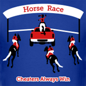 Horse Race - Horse Lovers T Shirts