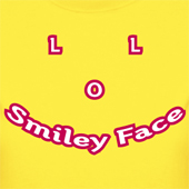 LOL Smiley Face - Friendly Goblins - Cute t shirts for girls or guys