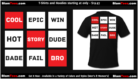 Cool Story Bro - Pop Culture Rubiks Cube T-Shirts and Hoodies for Men and Women