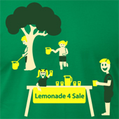 Lemonade 4 Sale - Lemonade Stand Pee humorous shirts